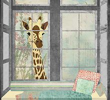 Window Giraffe by Janet Carlson
