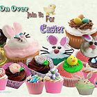 Easter Cup Cakes: Invitation  by aldona