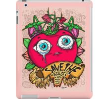 Save The Veggies - Tomato Version 2 iPad Case/Skin