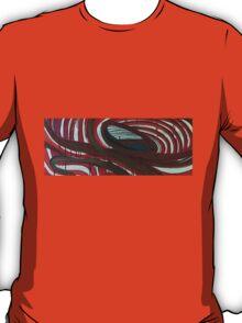 open-cast posterized edges T-Shirt