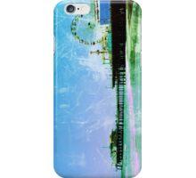 Blue Santa Monica Pier iPhone Case/Skin