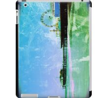 Blue Santa Monica Pier iPad Case/Skin