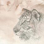 Chinese Zodiac - The Tiger by KirstenOnRedB