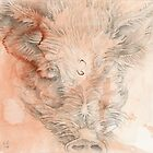Chinese Zodiac - The Pig by KirstenOnRedB