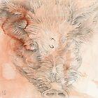 Chinese Zodiac - The Pig by KirstenOnRedB