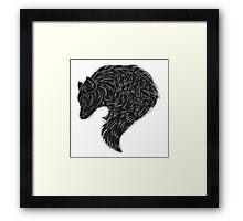The Black Framed Print