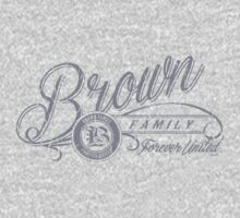 Brown Family T-Shirt - Heather Grey by Malupali