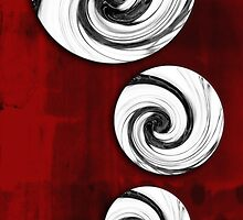 Swirling Round by SRowe Art