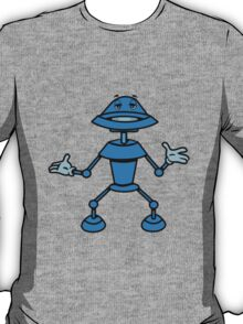 Robot funny cool toys funny comic T-Shirt
