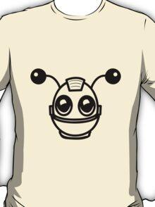 Robot funny cool toys fun antennas T-Shirt