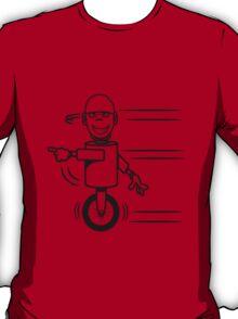 Funny cool fast funny goofy robot comic T-Shirt