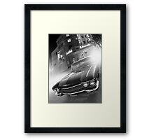 Cadillac at the Lincoln Framed Print