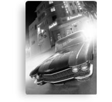 Cadillac at the Lincoln Metal Print