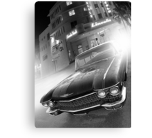 Cadillac at the Lincoln Canvas Print