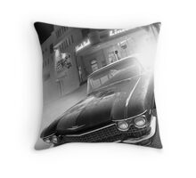 Cadillac at the Lincoln Throw Pillow