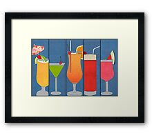 Fruit Drinks Framed Print