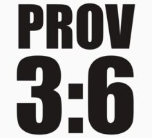 Prov 3:6 - in all you ways acknowledge Hi by CoveredByTees