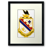161st Infantry Regiment - First In War First In Peace Framed Print