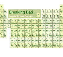 Breaking Bad periodic table by Tom Duerden