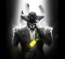 Twisted Fate - League of Legends - LoL by sakha
