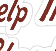 Help Me Rhonda Sticker