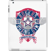 Rogers Boxing Gym 2 on White iPad Case/Skin