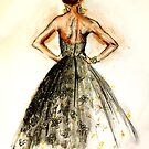 Fashion - Sequined Evening Gown by dapperc