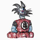 DBZ doodle  by Pandora's  Scribbles