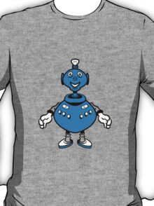 Robot cool funny PEAR fat funny T-Shirt