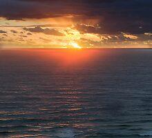 Surfers Sunrise by Ann  Van Breemen