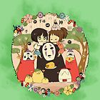 Spirited away  by itsuko