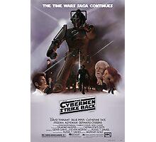 Time Wars - The Cybermen Strike Back Photographic Print