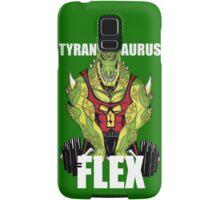 Tyrannosaurus Flex (With text) Samsung Galaxy Case/Skin