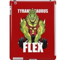 Tyrannosaurus Flex (With text) iPad Case/Skin