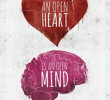 Open Heart, Open Mind by fixtape