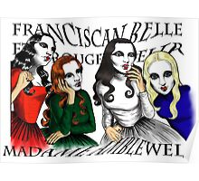 Franciscan Belle sisters Poster