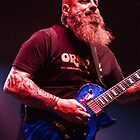 Kirk Windstein of Crowbar/Down - iPhone Case by HoskingInd