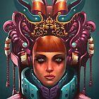 Rashah Queen Portrait by Enrique Figueroa