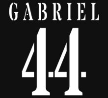 Gabriel Baseball Shirt by fairy911911