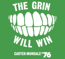 The Grin Will Win - Vote Carter in '76 by itsmerocky