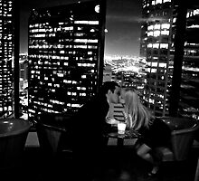 Skyline Kiss  by Jesse Diaz