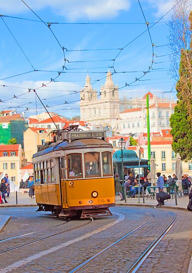 28. tram in Lisbon by terezadelpilar~ art & architecture