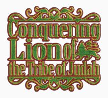 Conquering lion of the trible of judah  by extracom