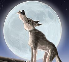 Howling Wolf by DoodleDave