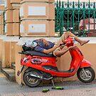 Resting by Werner Padarin