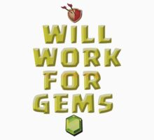 will work for gems COC- Clash of clan Tshirt by Trish08