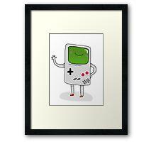 Cute Gameboy T-shirt Framed Print