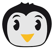 Sweet little Penguin child baby face by Style-O-Mat