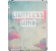 limitless mind iPad Case/Skin