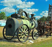 Old Steam Engine by Penny Smith